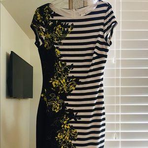 A gorgeous cache dress!